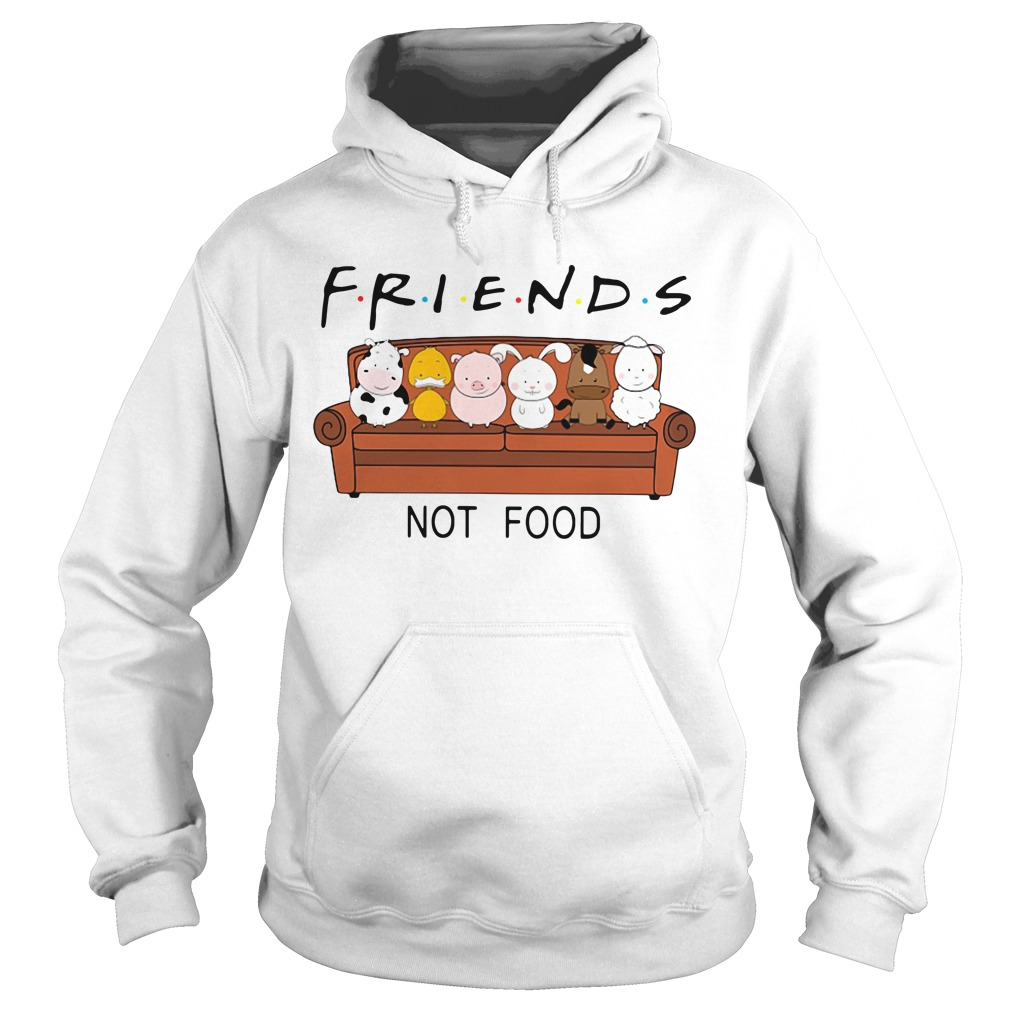 Friends TV show animal are friends not food Hoodie
