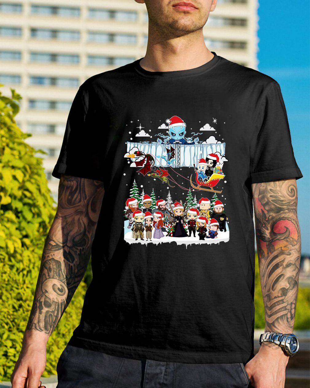 Game of Throne Chibi ugly Christmas Guys Shirt