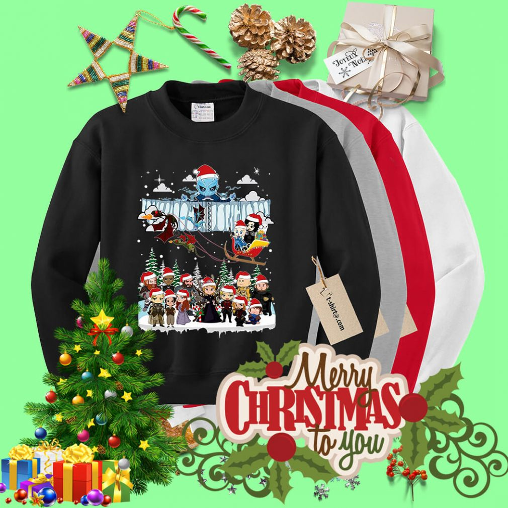 Game of Throne Chibi ugly Christmas sweater