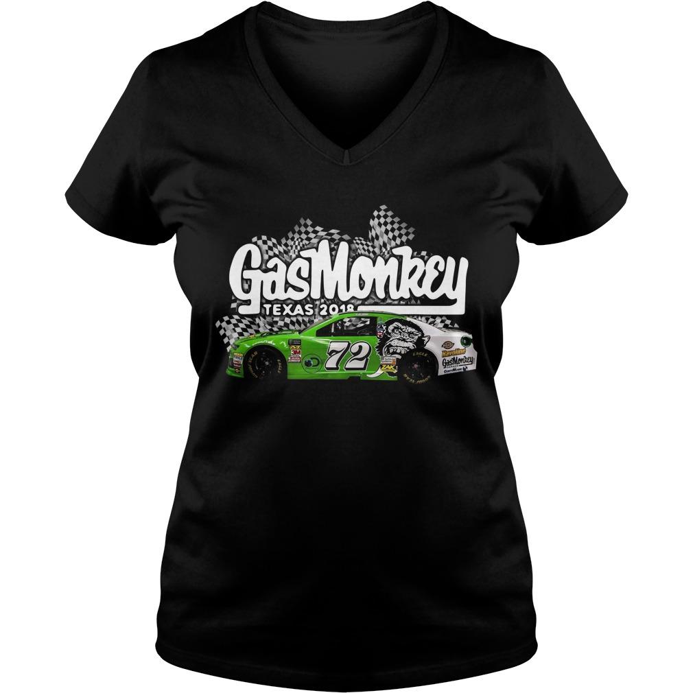 Gas Monkey Texas 2018 V-neck T-shirt