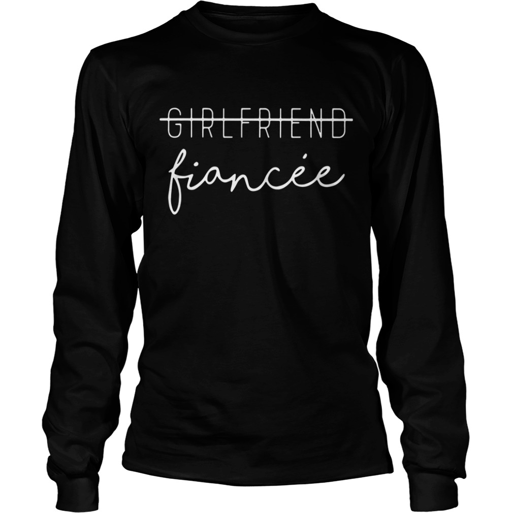 Girlfriend Fiancee Longsleeve Tee