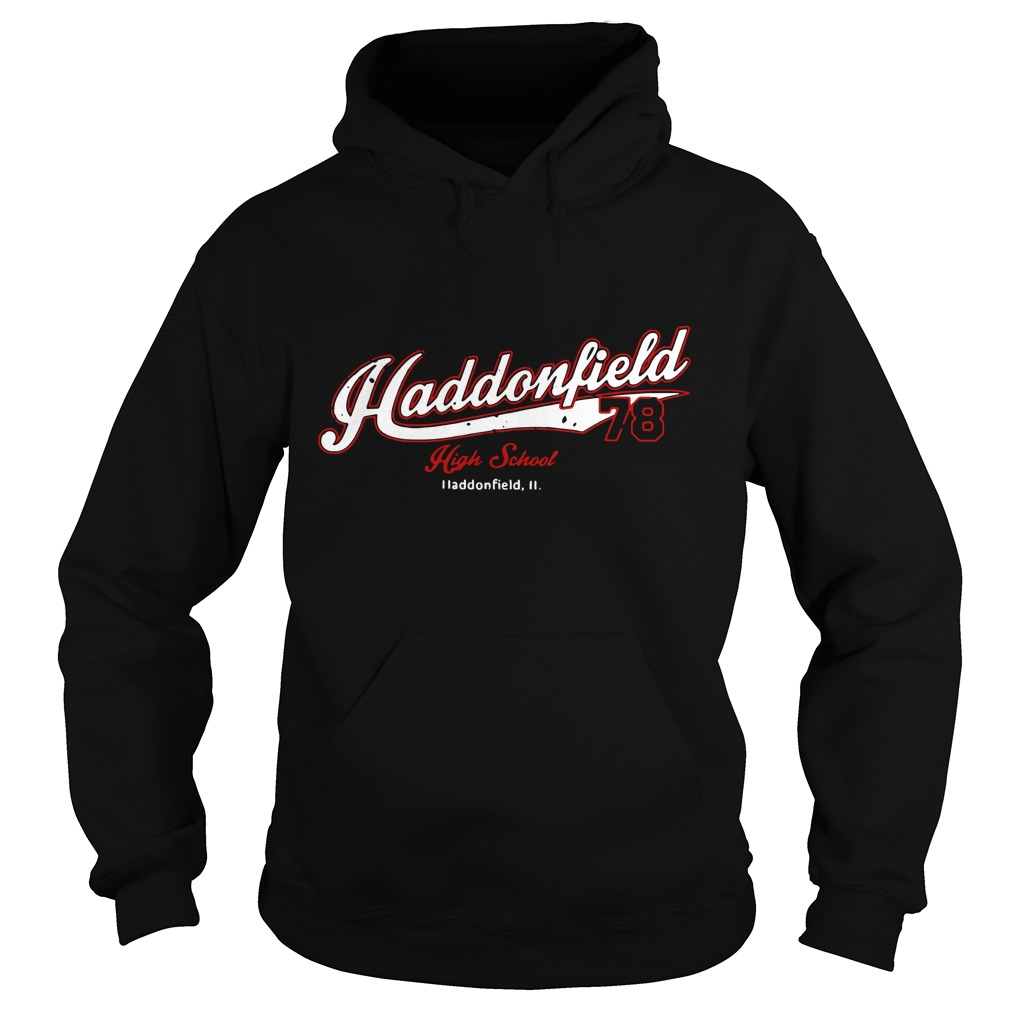 Haddonfield high school Jersey 78 Michael Myers Hoodie Back Mockup