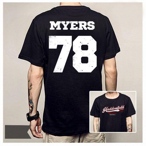 Haddonfield high school Jersey 78 Michael Myers shirt