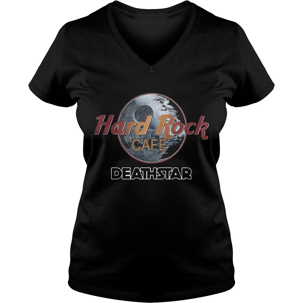 Hard Rock cafe Death Star V-neck T-shirt