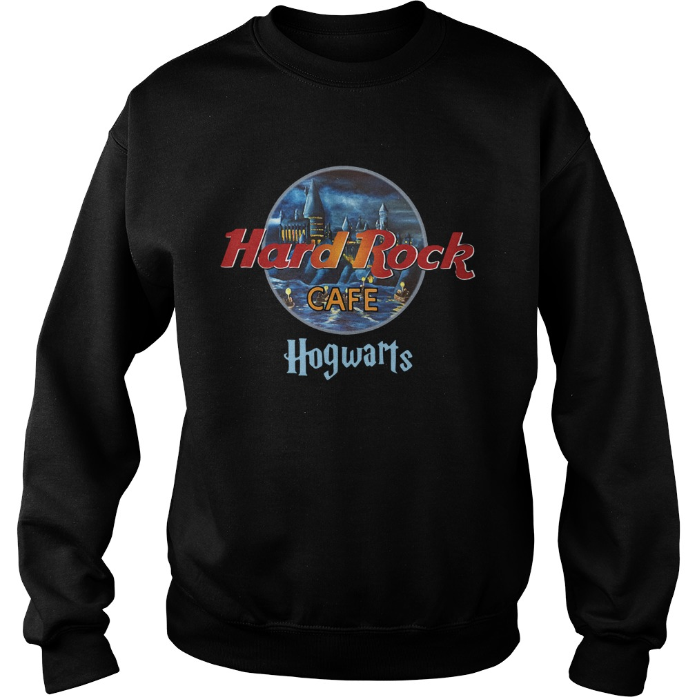 Harry Potter hard Rock cafe Hogwarts Sweater