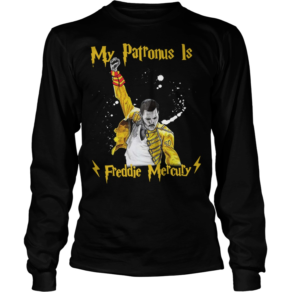 Harry Potter my Patronus is Freddie Mercury Longsleeve Tee