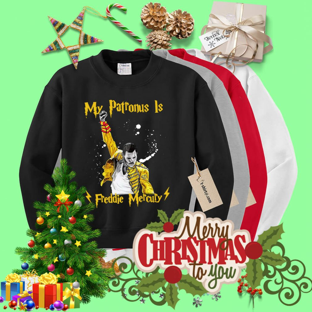 Harry Potter my Patronus is Freddie Mercury Sweater