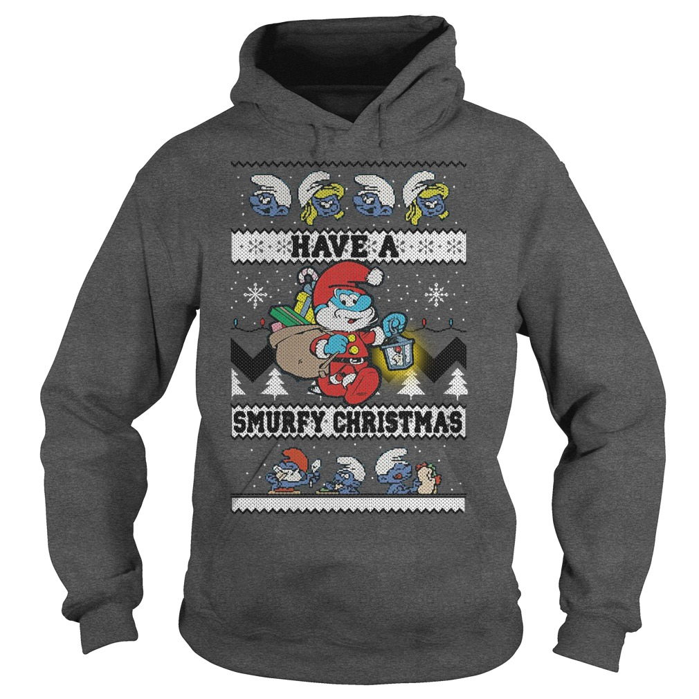 Have a Smurfy Christmas Hoodie