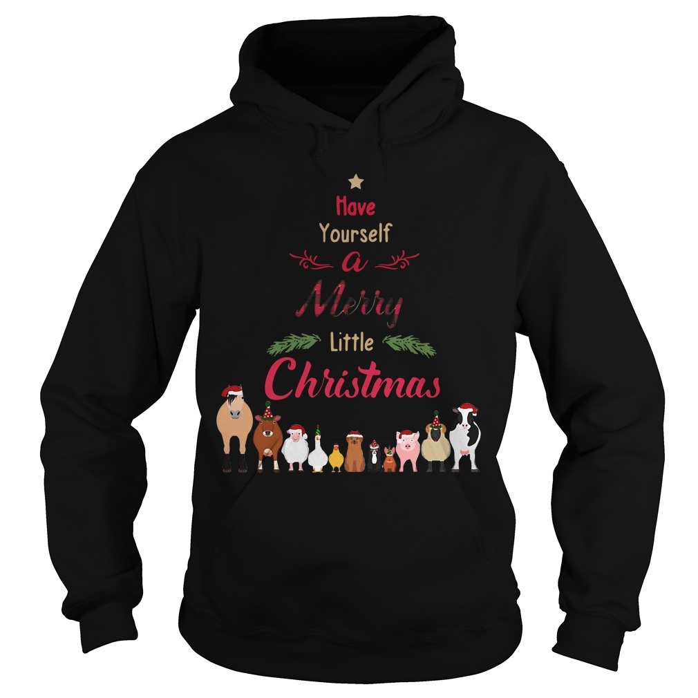 Have yourself a Merry little Christmas Hoodie