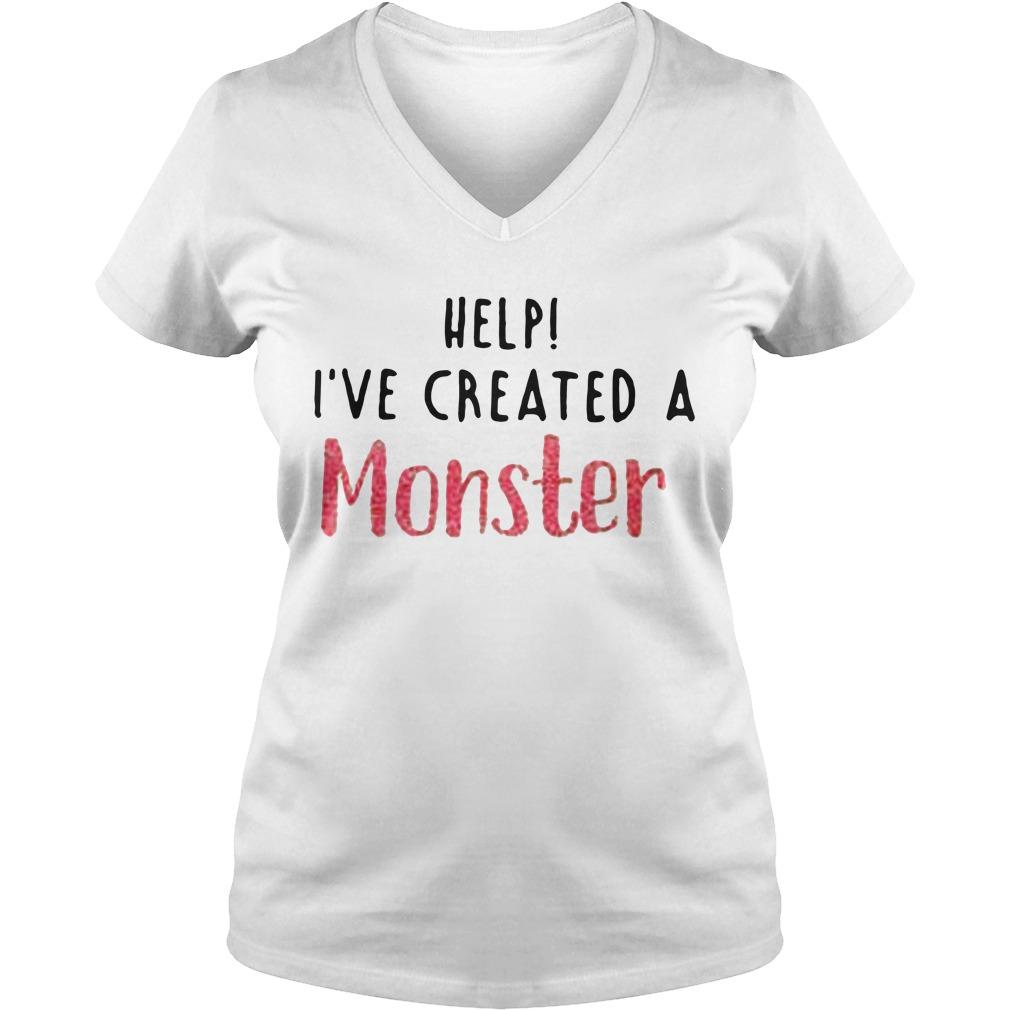 Help I've created a monster V-neck T-shirt