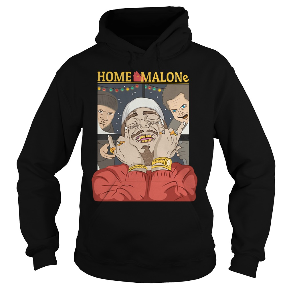 Home Alone and Post Malone Mashup Hoodie