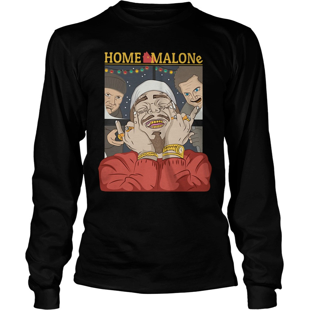 Home Alone and Post Malone Mashup Longsleeve Tee