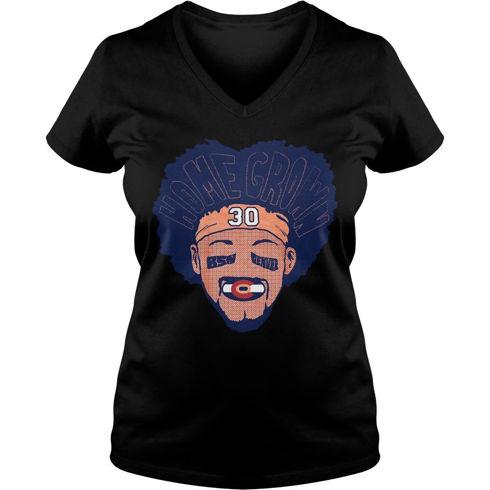 Homegrown BSN Denver 30 V-neck T-shirt
