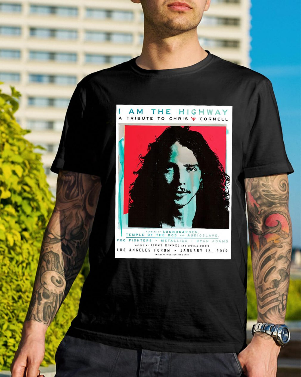 I am the Highway a tribute to Chris Cornell shirt