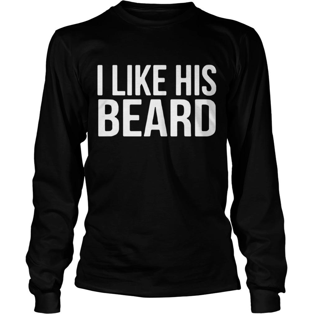 I like his Beard Longsleeve Tee