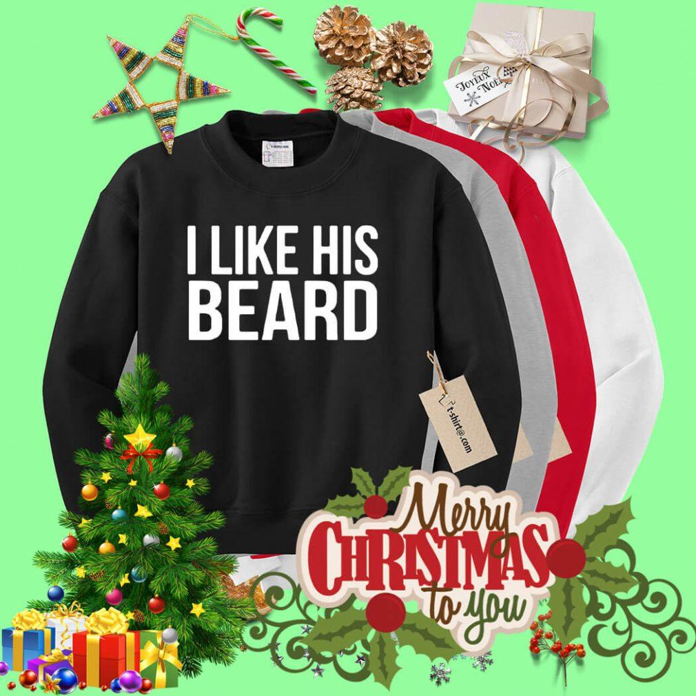 I like his Beard Sweater