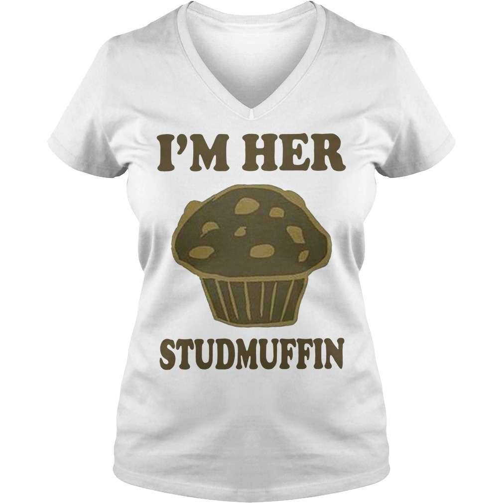 I'm her studmuffin V-neck T-shirt