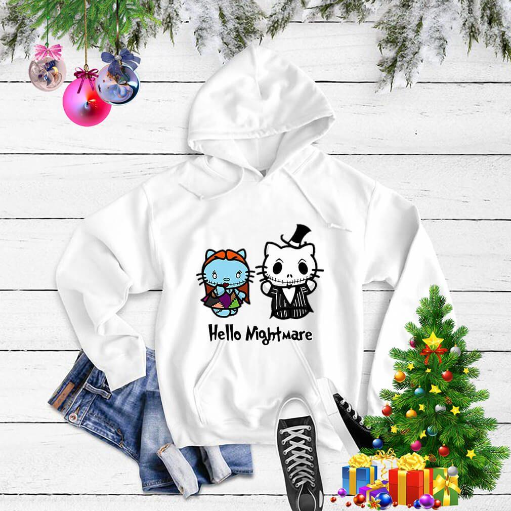 Jack and Sally hello kitty hello nightmare Sweater