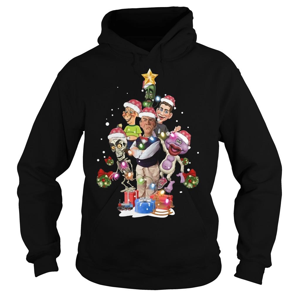 Jeff Dunham Christmas tree Hoodie