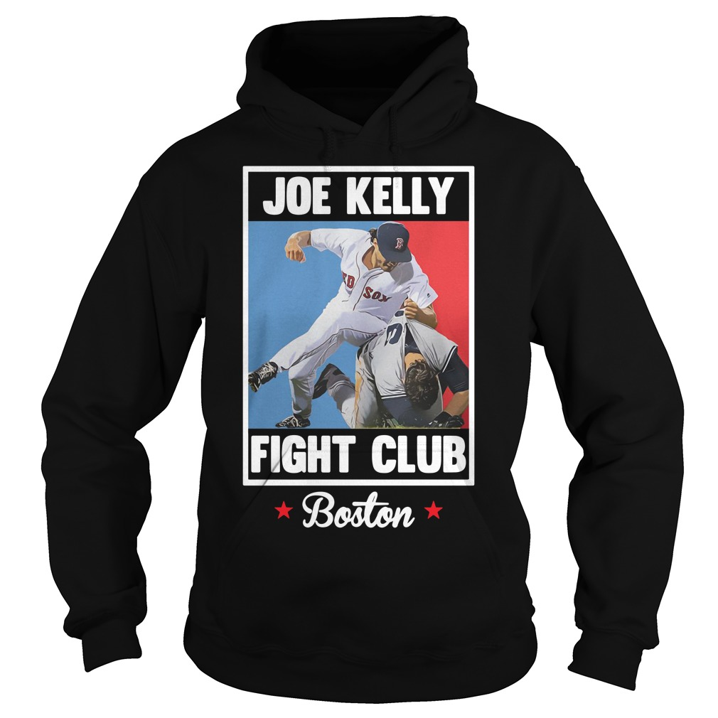 Joe Kelly fight club Boston Hoodie