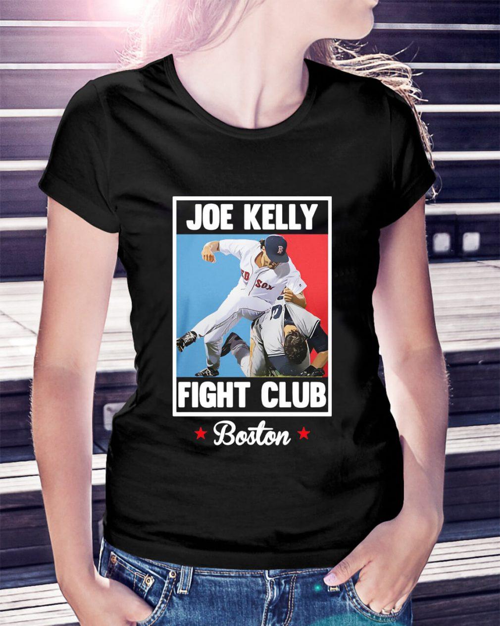 Joe Kelly fight club Boston Ladies Tee