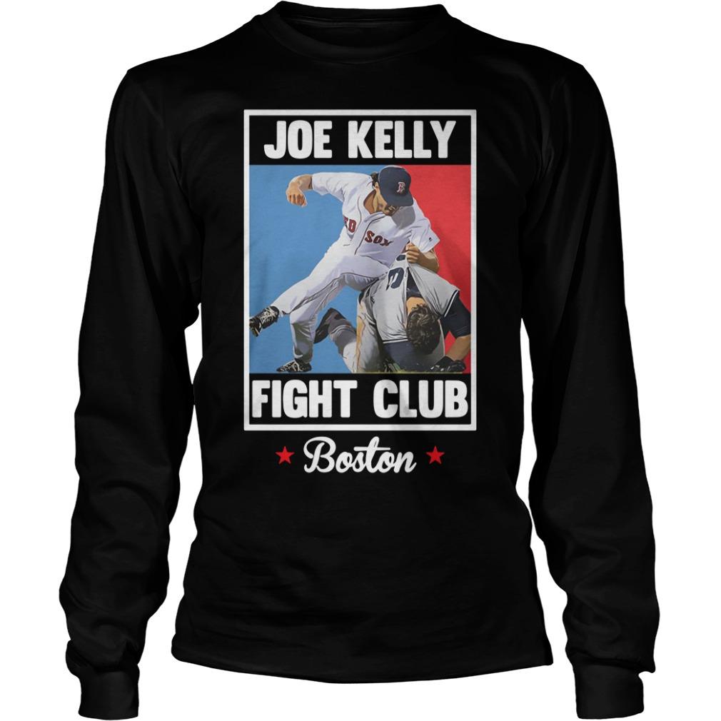 Joe Kelly fight club Boston Longsleeve Tee