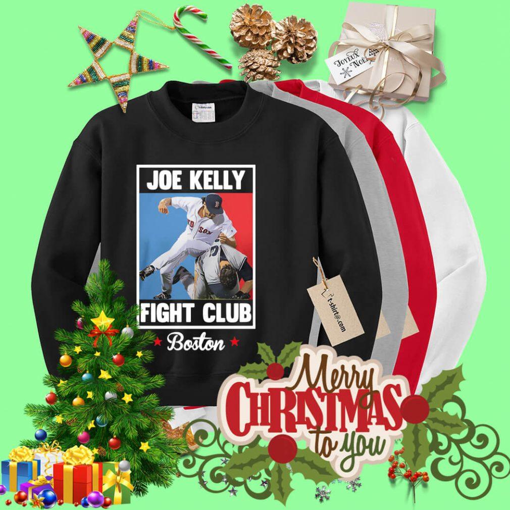 Joe Kelly fight club Boston Sweater