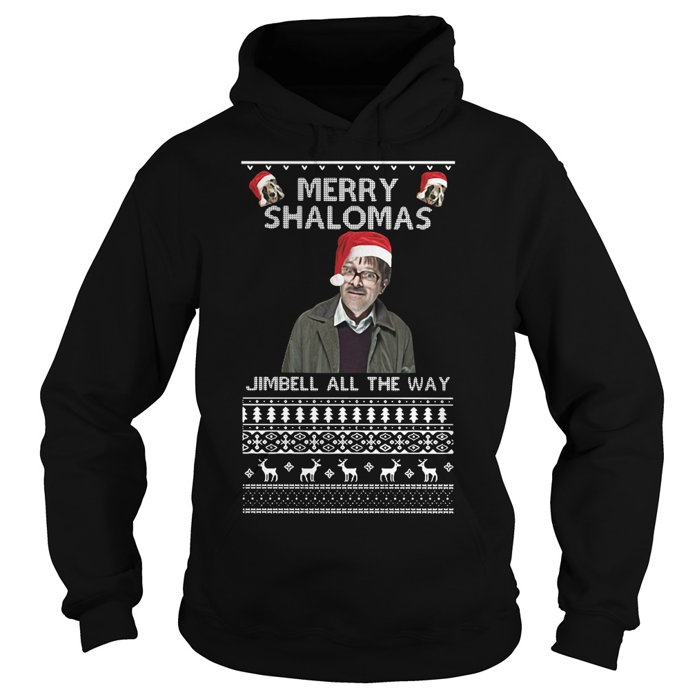 Merry Shalomas Jimbell all the way ugly Hoodie