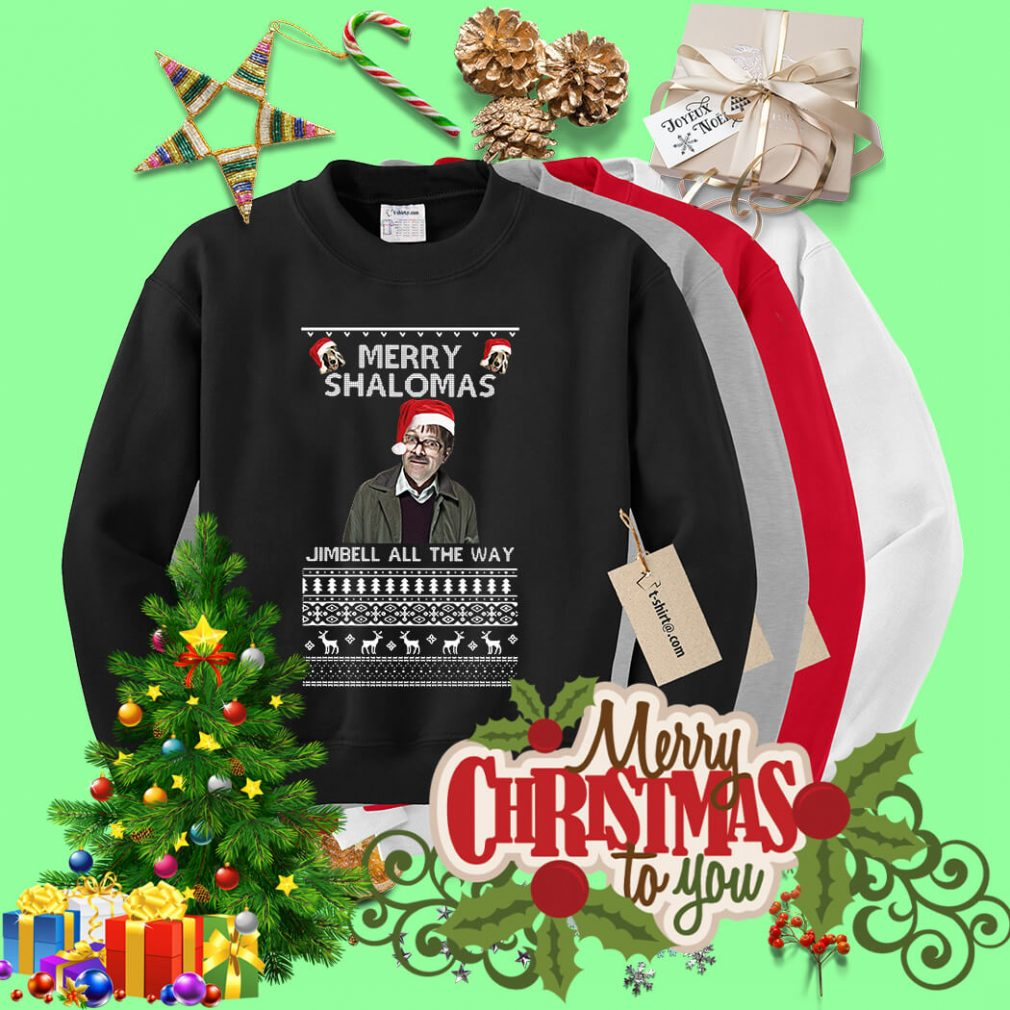 Merry Shalomas Jimbell all the way ugly sweater