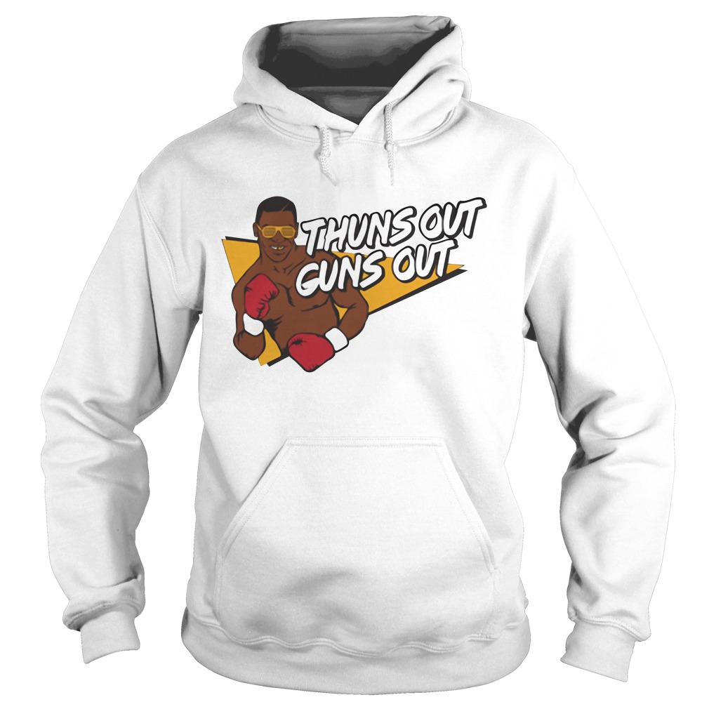 Mike Tyson thuns out guns out Hoodie