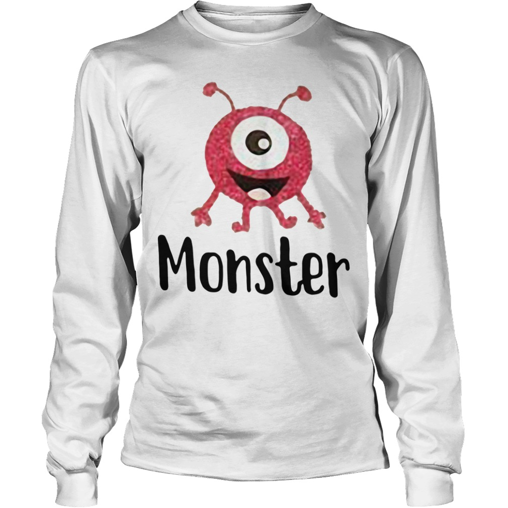 Monster pink with one eye Longsleeve Tee