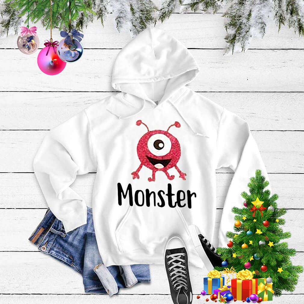 Monster pink with one eye Sweater