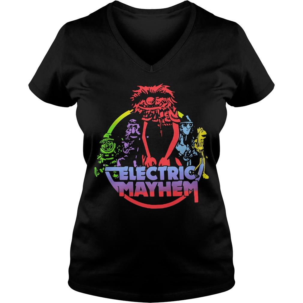 Muppets animal Electric Mayhem V-neck T-shirt