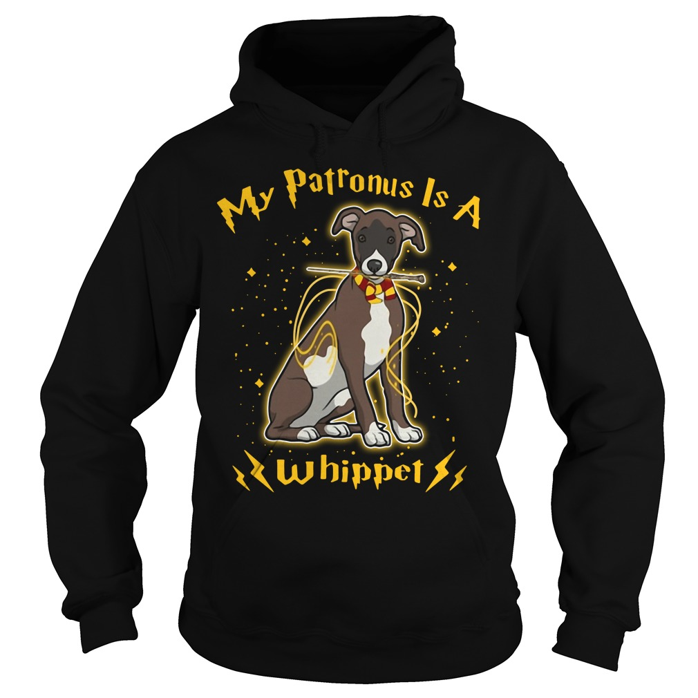 My Patronus is a Whippet Hoodie