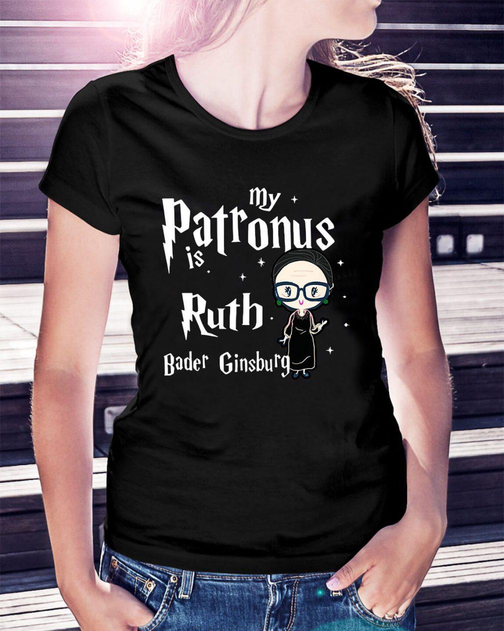 My Patronus is Ruth Bader Ginsburg Ladies Tee