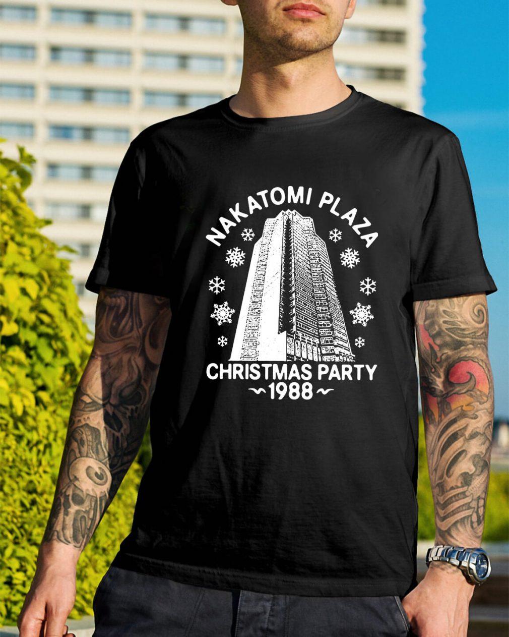 Nakatomi plaza Christmas party 1988 Guys Shirt