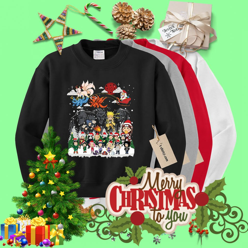 Naruto character Santa Christmas shirt, sweater