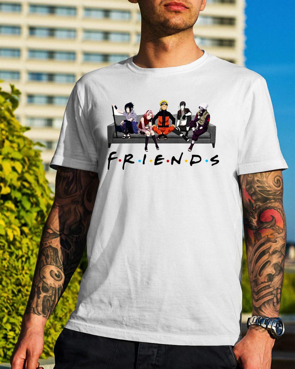 Naruto Sakura Sasuke Sai and Kakashi Friends Shirt