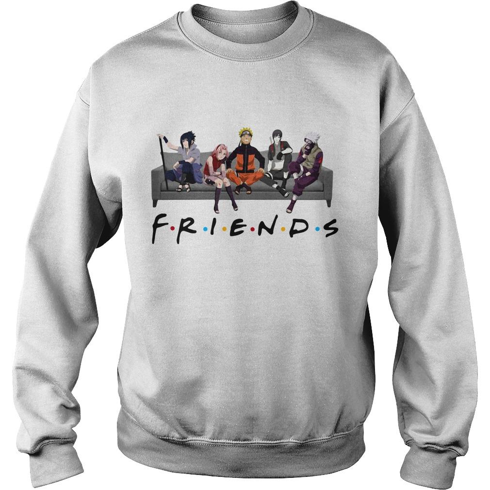 Naruto Sakura Sasuke Sai and Kakashi Friends Sweater