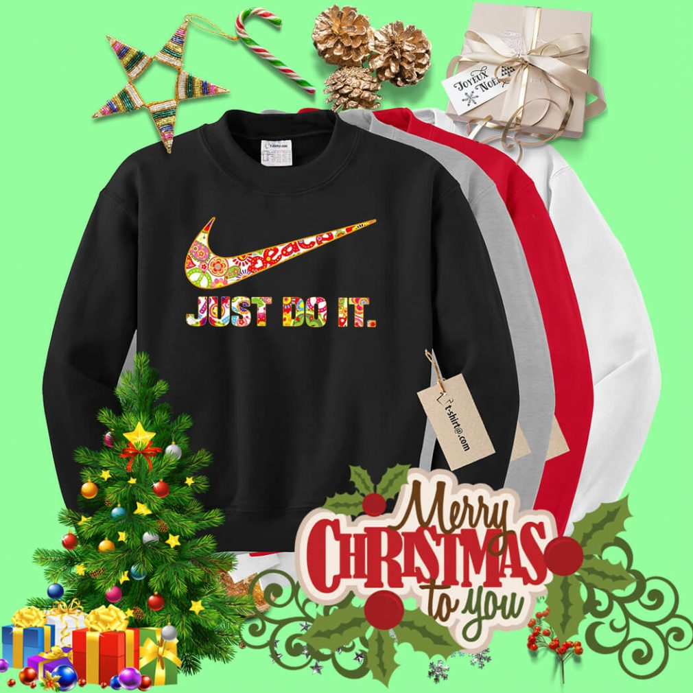 Nike Just do it floral Sweater