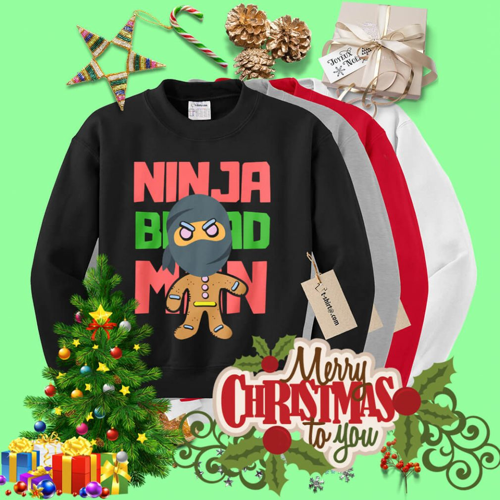 Ninjabread man Christmas shirt, sweater