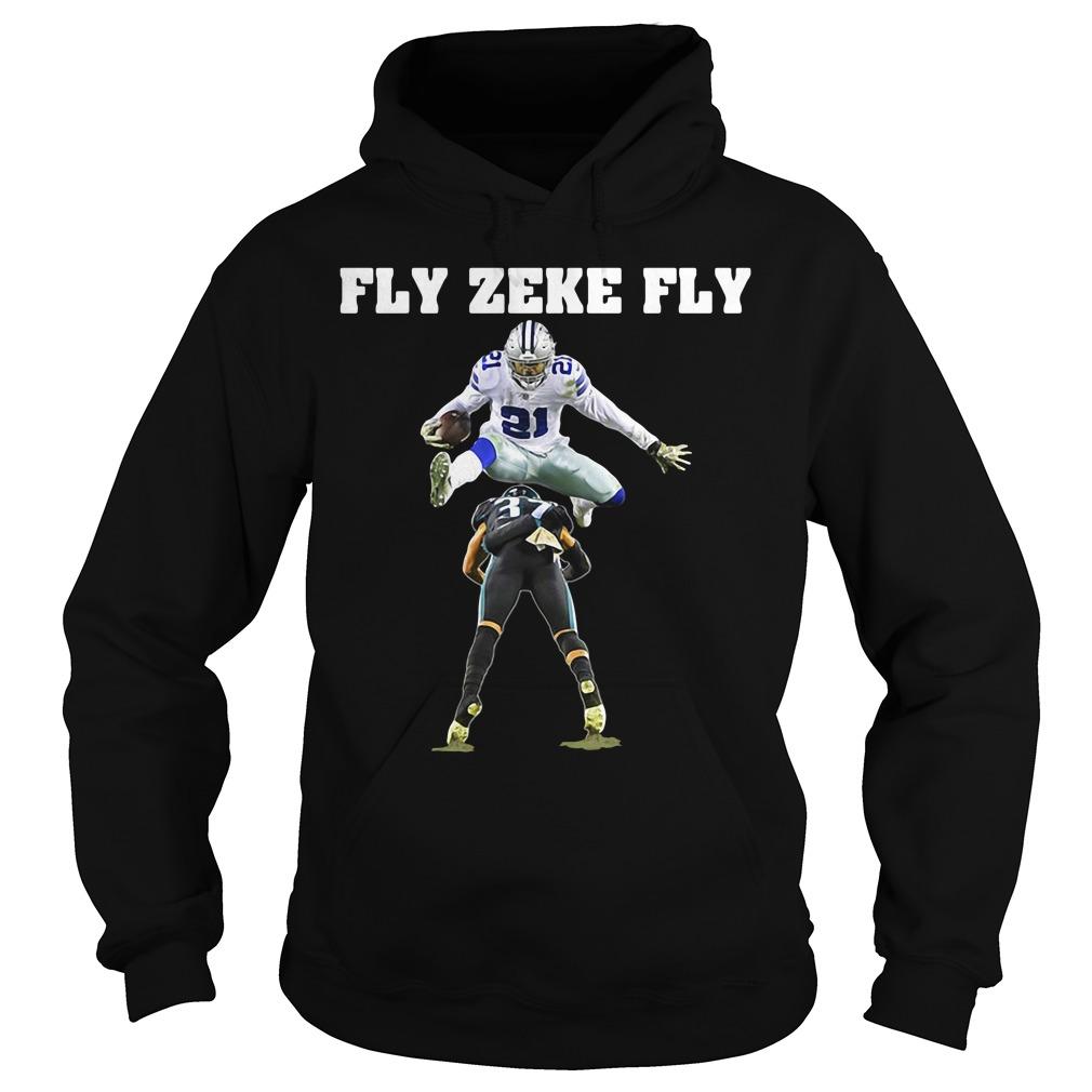 Official Ezekiel Elliott Fly Zeke Fly Hoodie