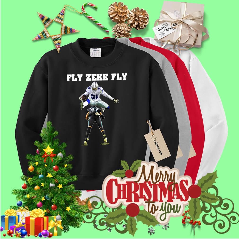 346a02b30bb Official Ezekiel Elliott Fly Zeke Fly Sweater