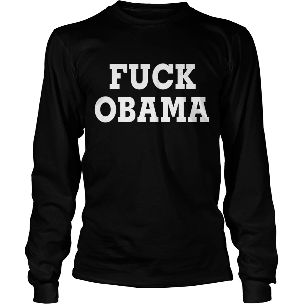 Official Fuck Obama Longsleeve Tee