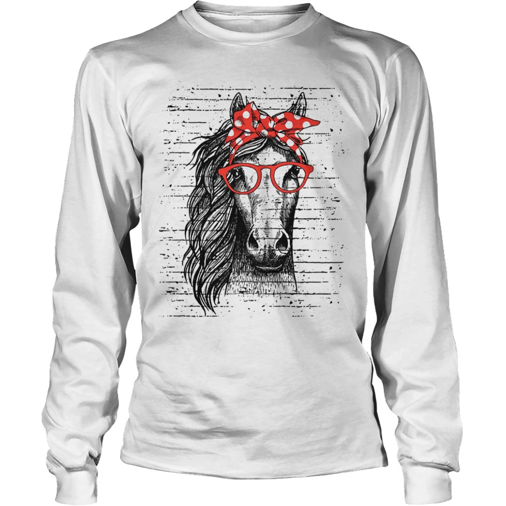 Official Horse Cowgirl Longsleeve Tee