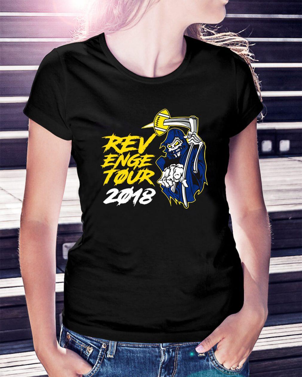 Michigan Revenge 2018 football Ladies Tee