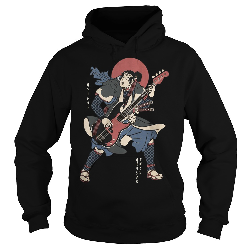 Official Samurai guitar Hoodie