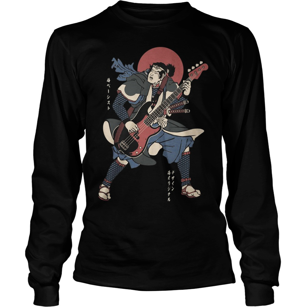 Official Samurai guitar Longsleeve Tee