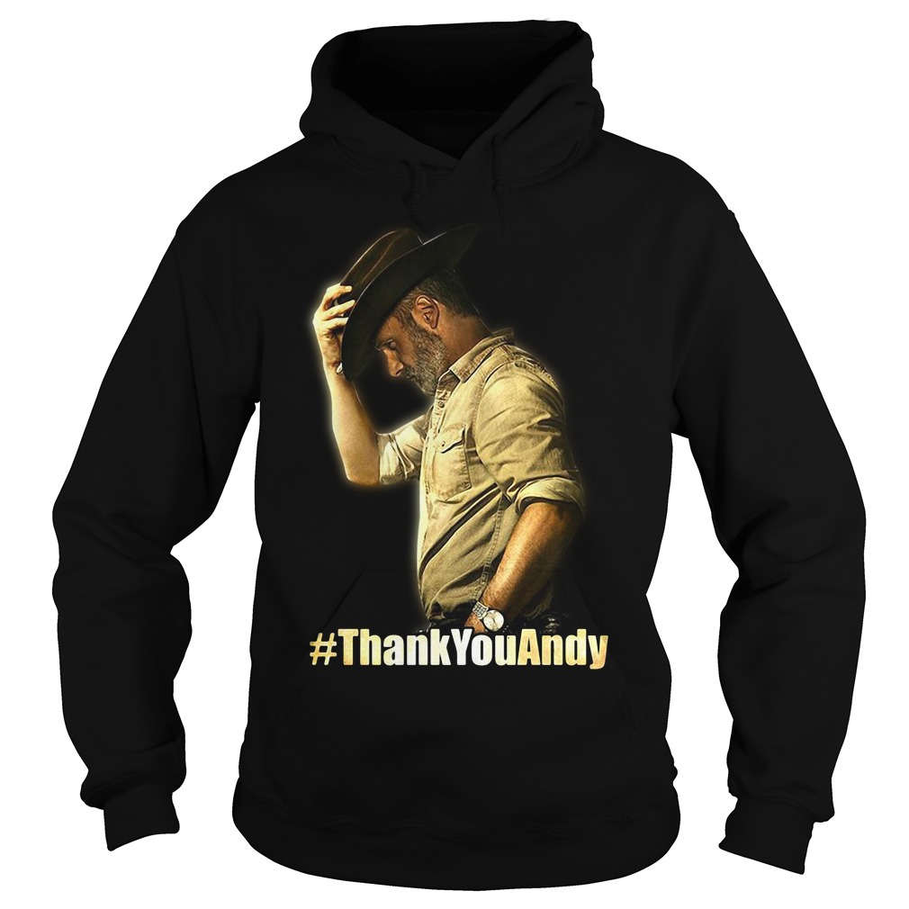 Official Thank you Andy Hoodie