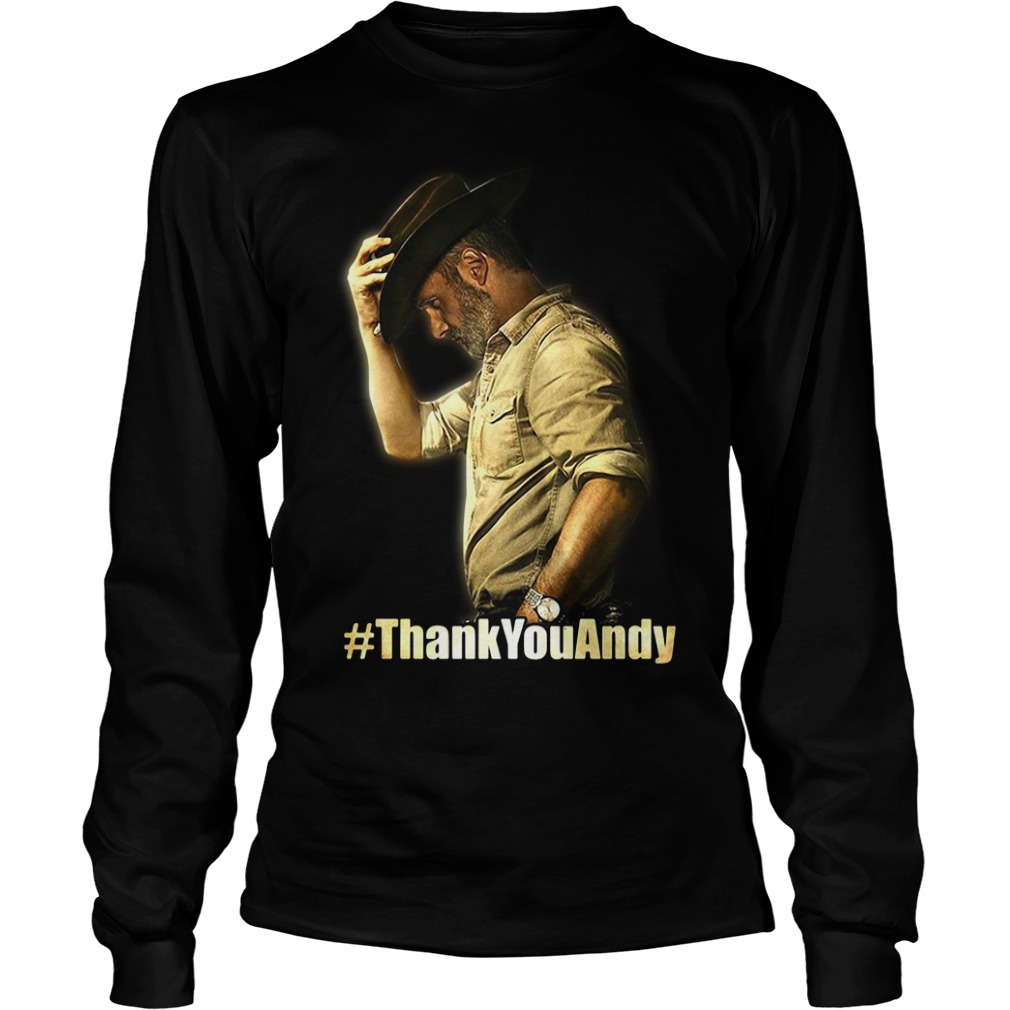 Official Thank you Andy Longsleeve Tee